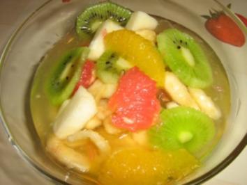 Obst salat - Rezept
