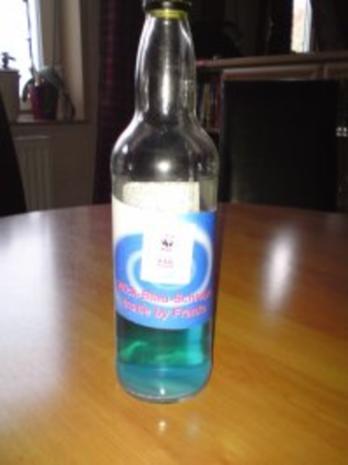 -Alkohol- Wick Blau-Schnaps - Rezept