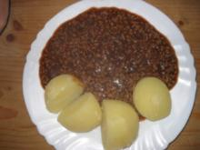 Liane's Gehacktesstippe - Rezept