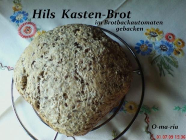 Brot ~ Hils Kasten-Brot auch für BBA geeignet - Rezept - Bild Nr. 2