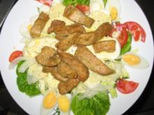 Pute auf Salat - Rezept