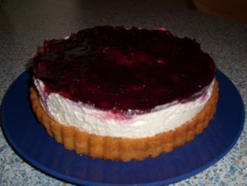 Himbeer- Philadelphia- Torte - Rezept