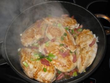Hühnerbrüstchen im Möhrenbett - Rezept