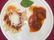 Polpette corleonese e Tagliatelle con sugo di pomodoro e ricotta - Rezept - Bild Nr. 9