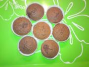 Kirsch-Schoko-Muffin - Rezept