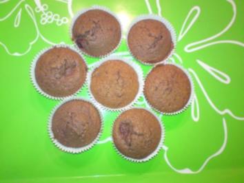 Rezept: Kirsch-Schoko-Muffin