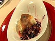 Saltimbocca vom Seeteufel mit Radicchio-Salat - Rezept
