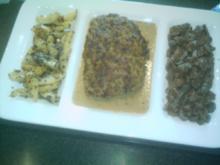 Rinderbraten mit Senf-Sesam-Kruste - Rezept