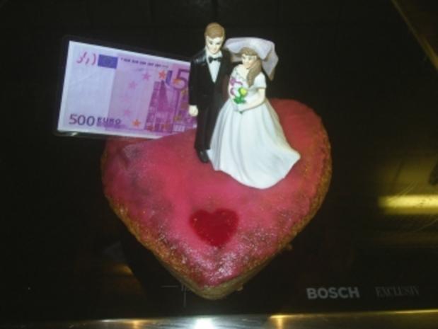 Gebäck - Hochzeitskuchen - Rezept