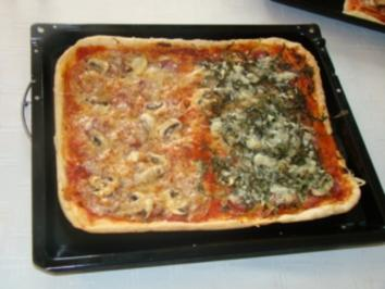 Pizza à la Gusto - Rezept