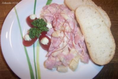 Rezept: Schinken-Spargel-Salat