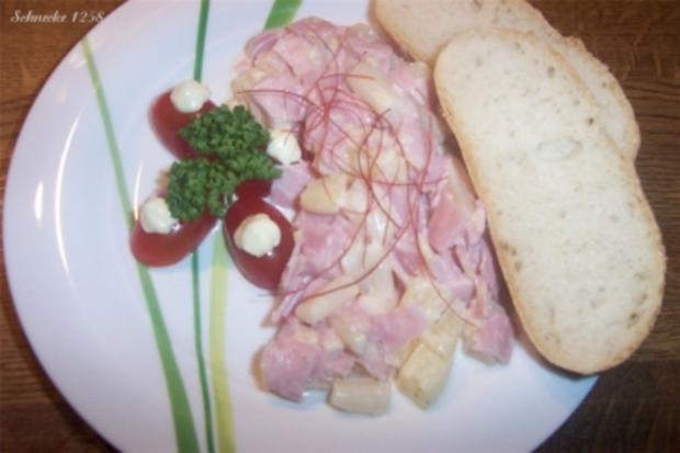 Schinken-Spargel-Salat - Rezept