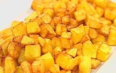 Rezept: Brägele von rohen Kartoffeln