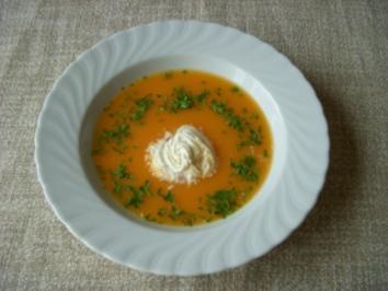 Möhren-Thymian-Suppe - Rezept