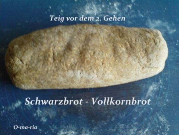 Brot ~ Schwarzbrot  ~  Vollkornbrot - Rezept - Bild Nr. 2