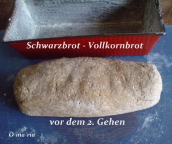Brot ~ Schwarzbrot  ~  Vollkornbrot - Rezept - Bild Nr. 3