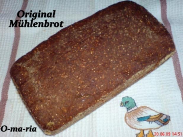 Brot ~ Original ~ Mühlenbrot - Rezept - Bild Nr. 5