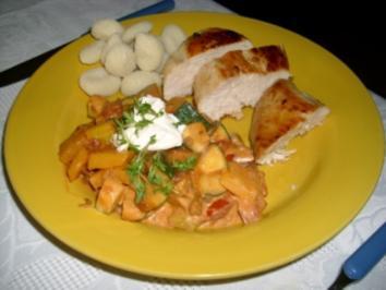 Hähnchen mit einem Hauch Toscana>> - Rezept
