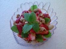 Erdbeer-Amaretto-Salat - Rezept