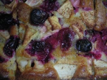 "Der Beste ""Cranberry - Apfel - Kuchen"" der Welt (Süß-Sauer-Würziger Kuchen) - Rezept"