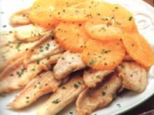 fisch seezunge mit orangen - Rezept