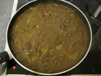 Rindfleisch mit Zwiebeln chinesisch - Rezept