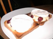 Camemberttoast - Rezept