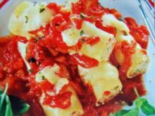 Cannelloni mit Tomaten - Rezept