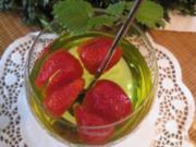 Schnelle Maibowle mit frischen Erdbeeren / der Renner - vielfach gelobt - Rezept