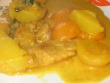 indisches schweinecurry - Rezept