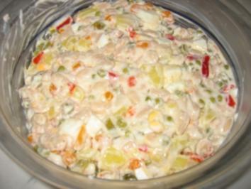 Russischer Salat - Rezept
