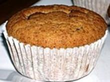 Marzipan-Nougat-Muffins - Rezept