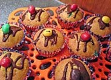 Marzipan-Smaties-Muffins - Rezept