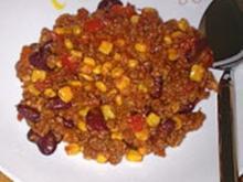 Chilli con carne nach Spibi42 - Rezept
