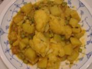 Kartoffel-Curry - Rezept