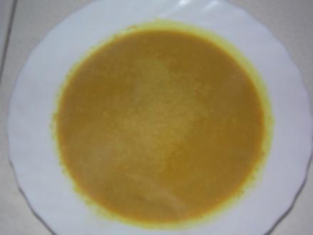 Curry-Kokos-Suppe - Rezept