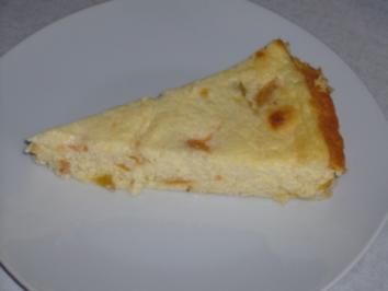 """Rezept: Kikis Käsekuchen mit Aprikosen """"light"""""""