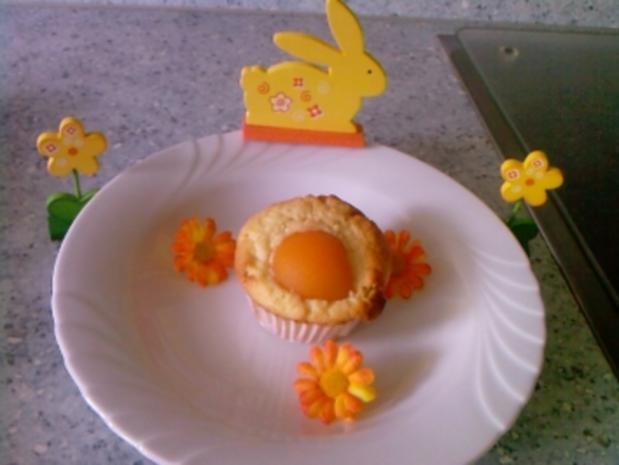Spiegelei- Muffins - Rezept