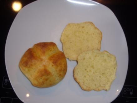 Kikis Quarkbrötchen - sehr schnell und einfach - Rezept