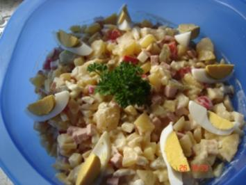 Rezept: Bunter Kartoffelsalat