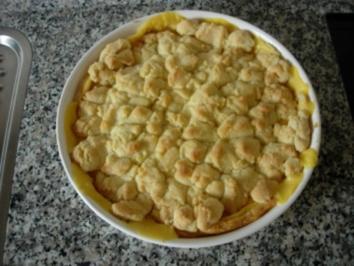 Zitronen-Streusel-Tarte - Rezept