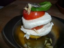 Mozzarella Türmchen - Rezept