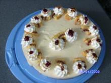 Orangensahne-Torte - Rezept