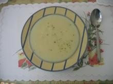 Suppen: Spargelcremesuppe - Rezept