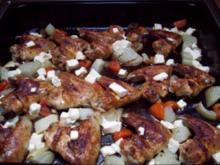 Knusprige Hühnerflügel aus dem Ofen - Rezept