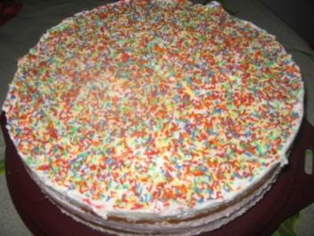 Erdbeersahne Torte - Rezept