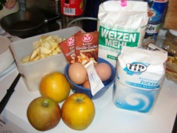 Apfelkuchen, die (fragt mich bitte nicht) wie vielte Möglichkeit!!! - Rezept