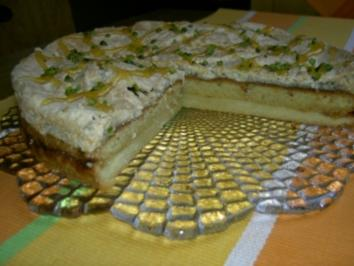 Torte  -  Alcazar-Torte - Rezept