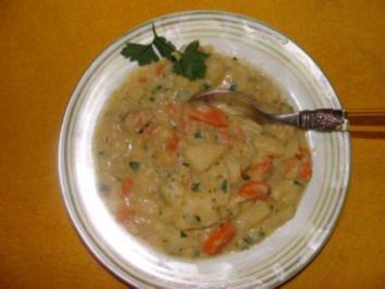 Suppe : -Meine Kartoffelsuppe- - Rezept
