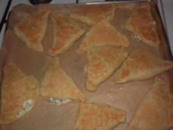 Frischkäse im Kartoffelteig - Rezept